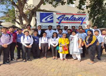 Industry Visit to Galaxy Surfactant