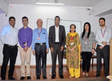 Guest lecture report held on 6.02.2020 of FinTree Finance Pvt Ltd.