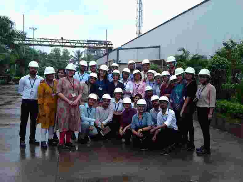 BS Industrial visit - Galaxy Surfactants