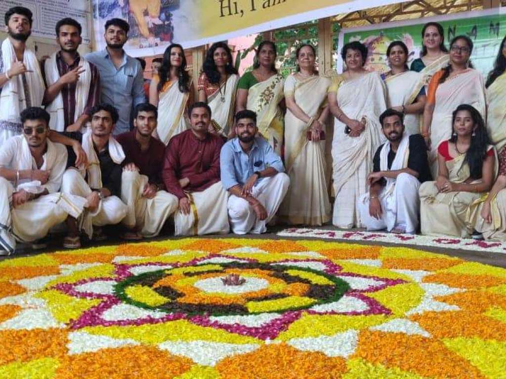 Onam Celebration in Campus