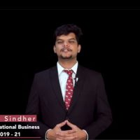 BS Abhishek Sindher International Business
