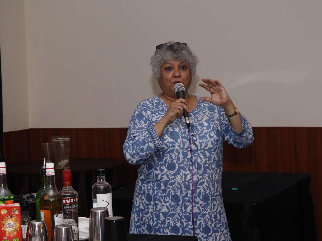 Cocktail making session by Ms. Shatbhi Basu