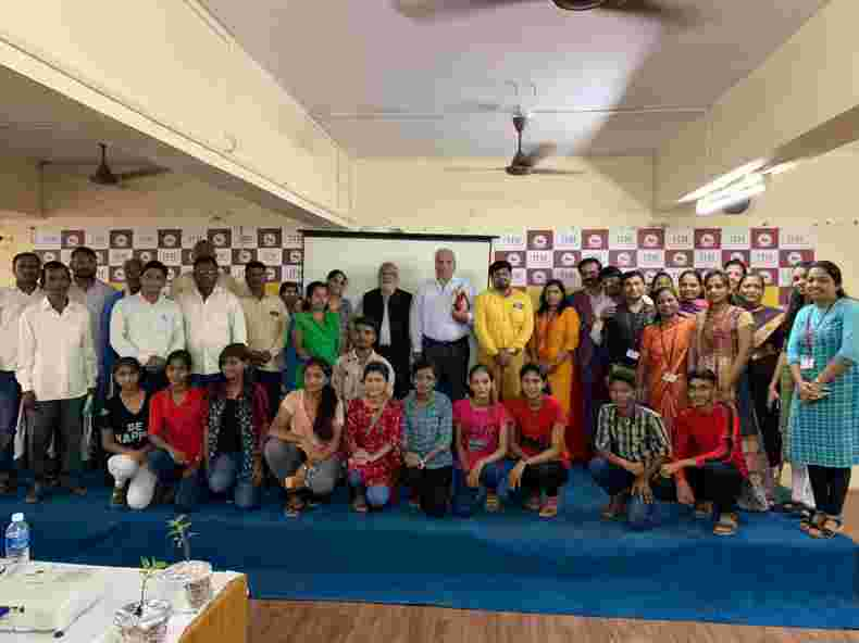 IHS  Career counselling session at ITM IHS Panvel campus