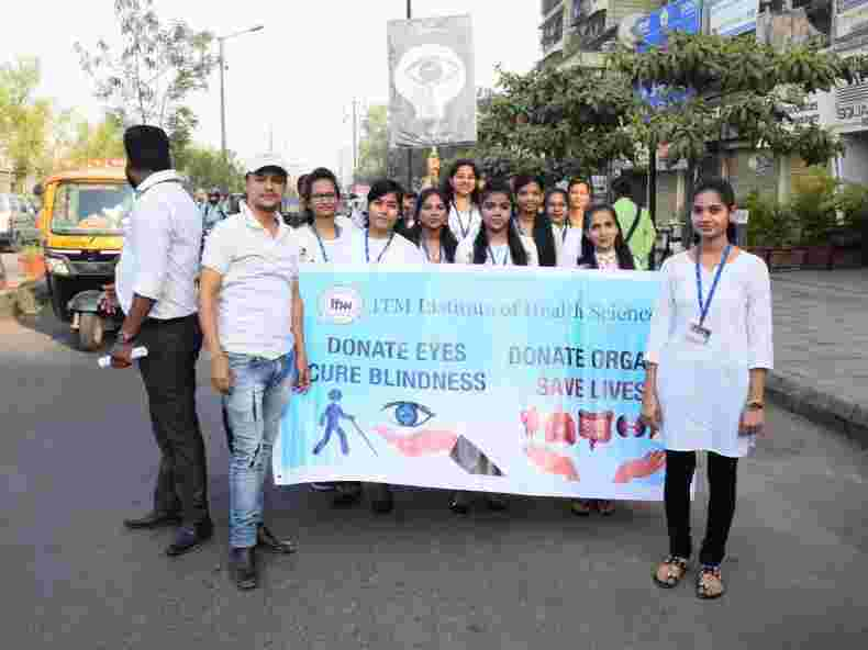 IHS World optometry day celebration at ITM IHS Panvel